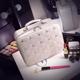 化妆包韩国化妆品收纳包硬 手提小号便携带镜子旅行化妆箱 包邮
