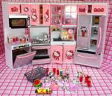 朵拉过家家儿童玩具HelloKitty女孩做饭厨房玩具白雪公主宝宝厨具