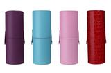 化妆刷筒收纳桶盒 刷包笔筒彩妆工具初学者眉笔大号防尘便携包邮