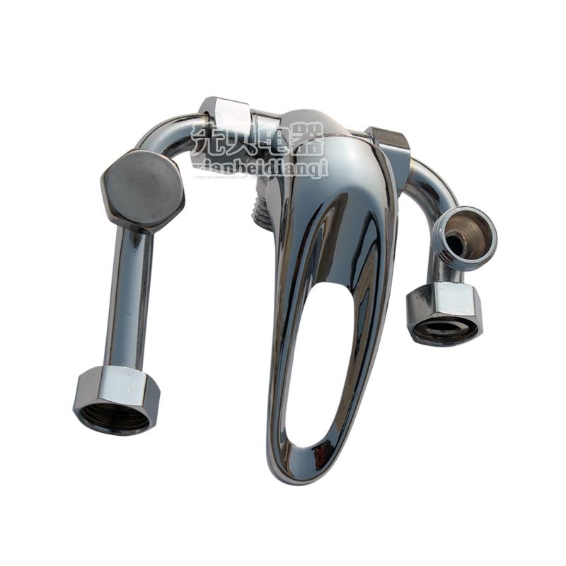 电热水器专用铜混水阀 冷热水开关 沐浴水龙头 明装图片