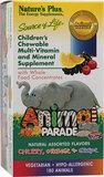 包邮儿童综合维生素矿物质片动物大游行多维Nature s Plus180