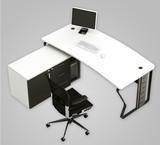 简约时尚办公家具办公桌钢架老板桌 主管桌经理桌 厂家直销