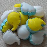 MUID创意萌象大象声控光控云朵小夜灯迷你床头LED节能宝宝婴儿灯