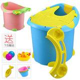 儿童洗澡桶 宝宝浴盆 婴儿沐浴桶泡澡桶澡盆 加厚特大号浴桶可坐