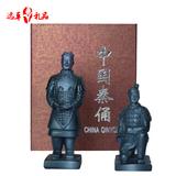 秦始皇兵马俑民间工艺品摆件 中国风特色送老外出国商务小礼品