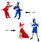 儿童成人动物表演服红狐狸 蓝狐狸 大型演出舞台服装塔大熊正品