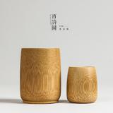 环保天然无漆竹杯子茶具竹筒杯 创意竹罐子竹酒杯竹制品茶杯