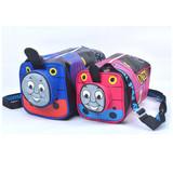卡通托马斯儿童包包男女童斜挎包幼儿园单肩包可爱小火车水桶包潮