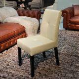 实木橡胶木餐椅 顾家餐桌椅子 现代简约黑色白色深咖软包凳子227