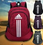 新款正品阿迪达斯双肩包男女学生书包户外运动旅行学院风登山背包