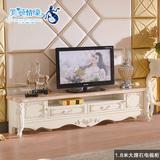 欧式电视柜 实木烤漆简约电视柜茶几组合大理石客厅家具组合套装