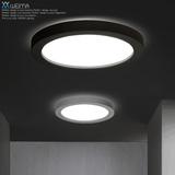 现代简约圆形吸顶灯饰个性艺术书房卧室灯大气LED智能客厅餐厅灯