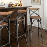美式loft复古铁艺吧台椅咖啡厅酒吧椅创意高脚椅吧凳工业风吧椅