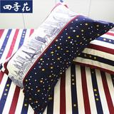 包邮 斜纹枕套 单人信封48 74cm加大枕头套 一只装枕芯套一对拍二