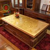 彩色pvc塑料印花台布软玻璃餐桌桌布欧式防水长方形水晶板茶几垫