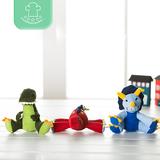 儿童毛绒玩具小恐龙公仔布娃娃玩偶会叫小孩恐龙玩具生日礼物女生