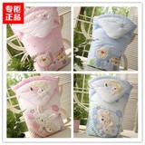 包邮专柜正品韩国agabang阿卡邦婴儿抱被纯棉新生儿包被春秋冬季