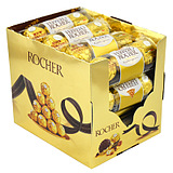 费列罗巧克力礼盒装48粒婚庆喜糖散装T3进口零食年货白色情人礼物