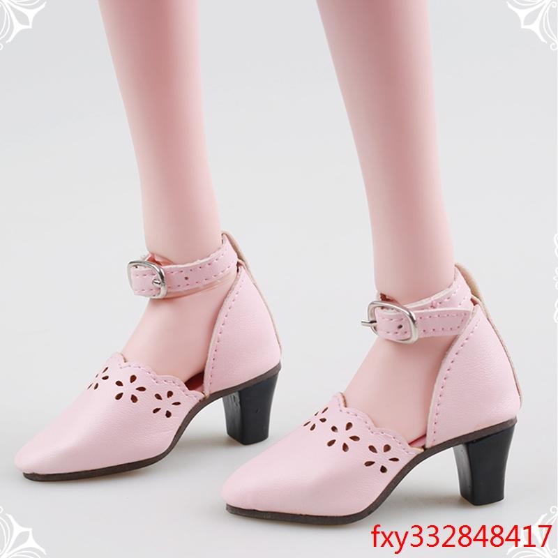 芭比叶罗丽娃娃bjd/sd60cm高跟鞋马丁靴夜萝莉娃娃换装鞋子特价图片