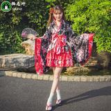 猫老师洛丽塔洋装动漫cosplay服装日本重樱花和服女装全套女仆装