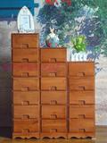 包邮实木床头柜窄斗柜抽屉式夹缝收纳柜子储物整理柜田园宜家整装