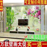 客厅电视背景壁画大型3d立体简约现代无缝墙布影视墙墙纸卧室壁纸