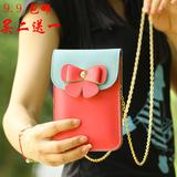 【天天特价】女斜挎包手机袋苹果大屏可爱学生零钱包迷你小包包