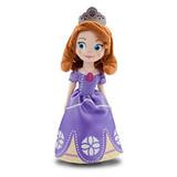现货 美国迪士尼DISNEY代购正品苏菲亚Sofia公主毛绒布娃娃