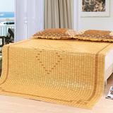 夏季麻将凉席天池茗品1.8米学生单人1.2m床碳化 子可折叠1.5米竹