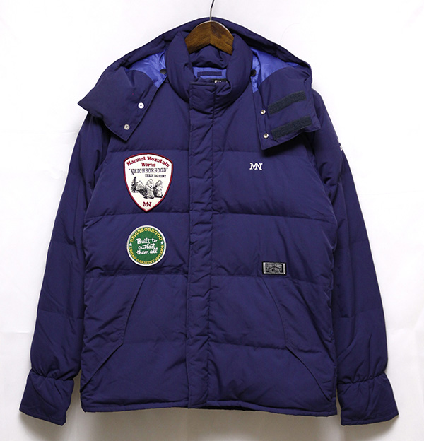 【保暖】neighborhood X MARMOT 连帽羽绒服M码