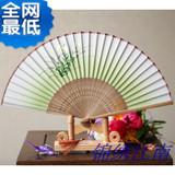 出国礼品中国风送老外的小礼物中国特色实用礼品日本折扇丝绸扇子