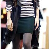 秋冬新款羊毛呢子韩版短裙半身包臀裙迷你裙a字裙一步裙酒红驼色