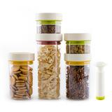 创意抽真空密封罐食品保鲜盒储物罐干货杂粮奶粉咖啡豆透明收纳罐