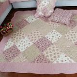冬季绗缝全棉布艺客厅垫茶几垫地垫榻榻米垫卧室床边垫宝宝爬行垫