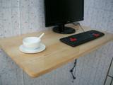 实木可折叠桌子电脑桌壁挂桌挂墙桌宜家小餐桌儿童学习桌家用餐桌