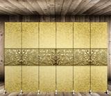屏风隔断客厅简约现代移动折屏卧室布艺玄关实木双面折叠欧式屏风