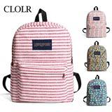 小学生书包3-4-6年级女生韩版双肩包儿童背包帆布休闲旅行包