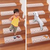 日本进口家用楼梯垫踏步垫免胶自粘脚垫实木别墅地毯防滑垫子地垫
