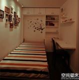 隐形床壁床翻板床多功能床配件五金折叠床空间壁床单人双人隐藏床