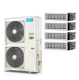 美的家用中央空调乐享家2代4匹MDVH-V100W/N1-520P(E1)一拖四