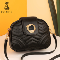 Gold Fox autumn and Winter small incense wind on the new mini bag female 2019 New Fashion Network red black bag messenger bag