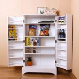 厨房角落地调味料瓶罐置储搁藏物收纳柜子韩式简约小户型特价欧式