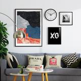 客厅装饰画三联现代简约餐厅挂画北欧风格创意组合沙发背景墙画