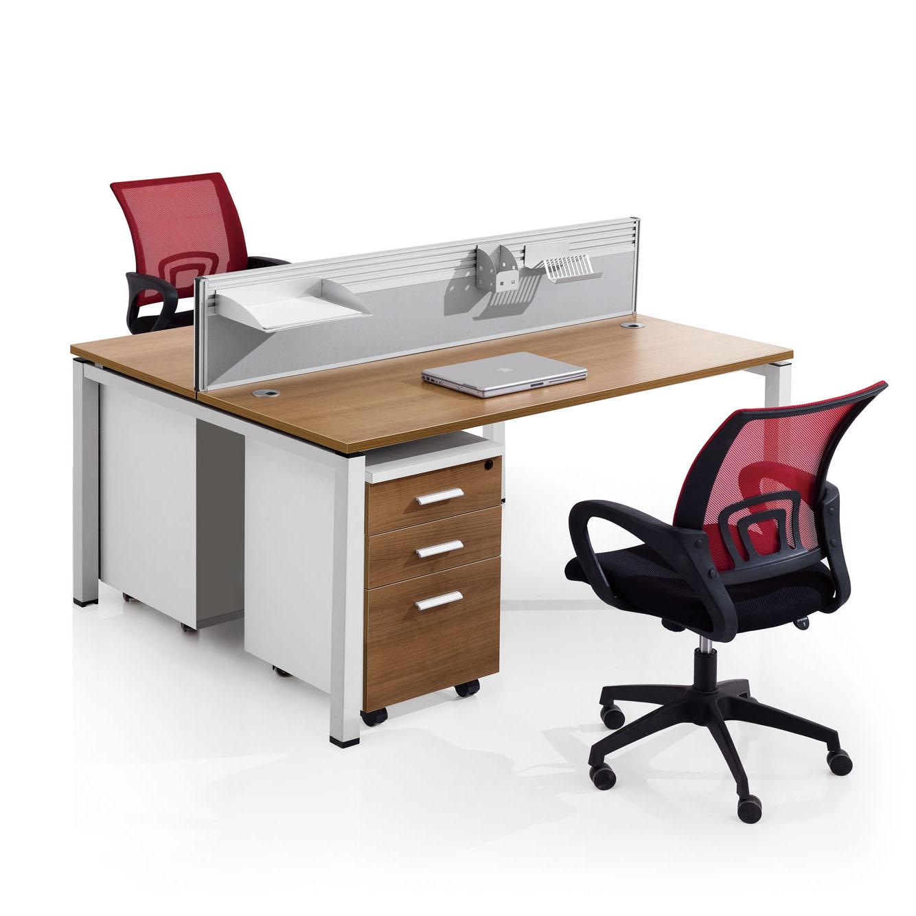 楷博家具办公桌简约现代职员办公桌员工办公桌电脑桌子组合工作位商品图片