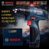 博世TSR1080-2-li锂电钻充电钻手枪钻家用电动螺丝刀博士电动工具