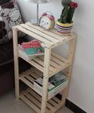 特价纯松木 实木架子书架花架 层置物架储物架 格架 展示架杂物架
