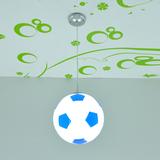 遥控LED灯篮球灯足球吊灯女男孩儿童灯卡通灯儿童房灯饰卧室灯具7