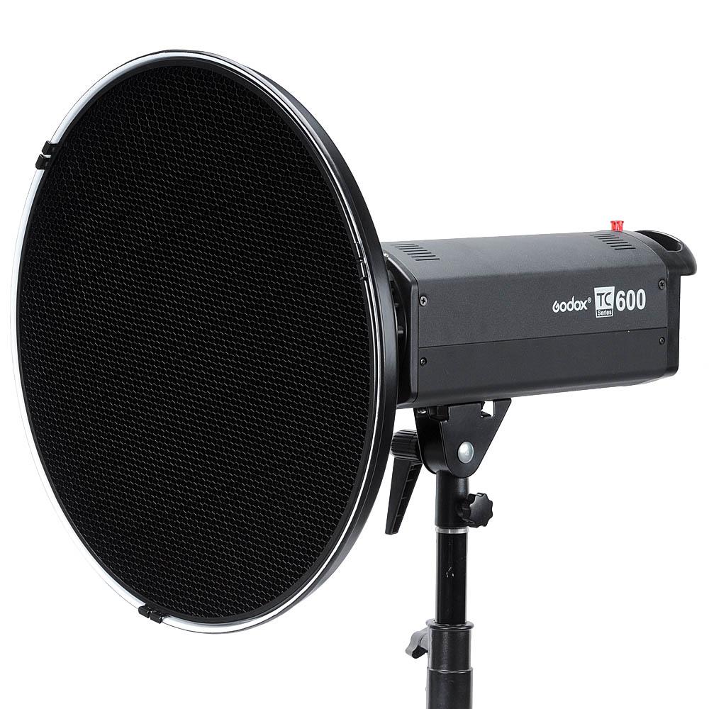 神牛雷达罩 55cm美人碟 蜂巢蜂窝 柔光布罩 闪光灯柔光罩摄影器材商品