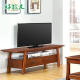 好战友美式乡村电视柜简约客厅 电视机柜实木卧室小户型电视柜