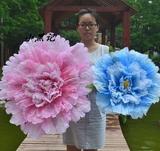 包邮舞蹈道具手拿花牡丹道具花伞幼儿园表演用花运动会道具广场舞